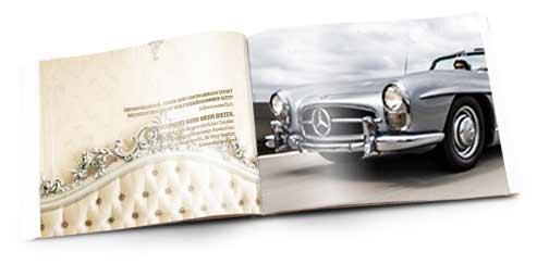 Info Broschüre der Classiccar Invest
